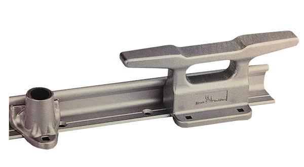 Relingslist aluminium 6m