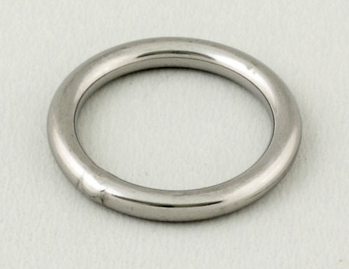 Ring rostfri inv 5mm 30mm