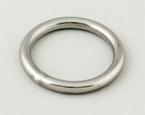 Ring rostfri 9mm inv 60mm