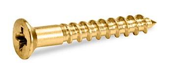 Mässingsskruv försänkt 3x20mm. FP=20st