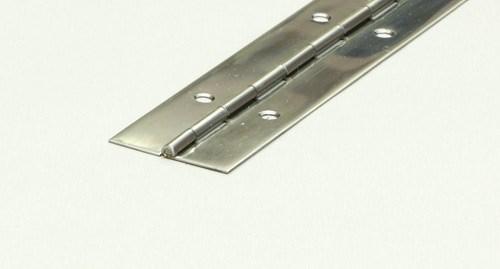 Pianogångjärn rostfri 32mm L=1m