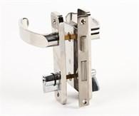 Dörrlås instickmodell rostfritt stål