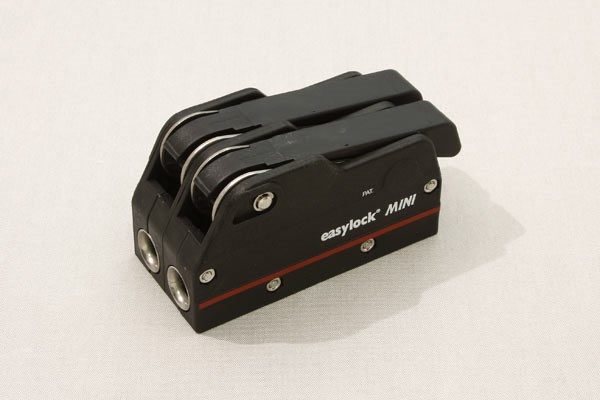 Easylock Mini dubbel svart avlastare