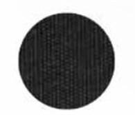 Kapellväv svart, per meter