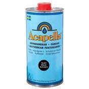 Acapella Svart Impregnering och infärgning