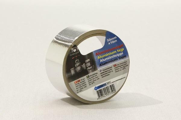 Skarvtejp aluminium 10m x50mm