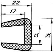 Relingslist RL6 12m