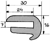 Relingslist RL8 12m