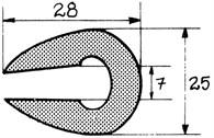 Relingslist RL21 12m