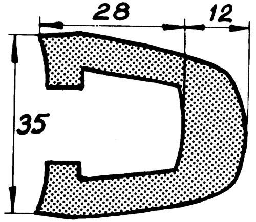 Relingslist RL26 18m