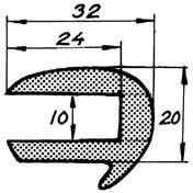 Relingslist RL59 12m
