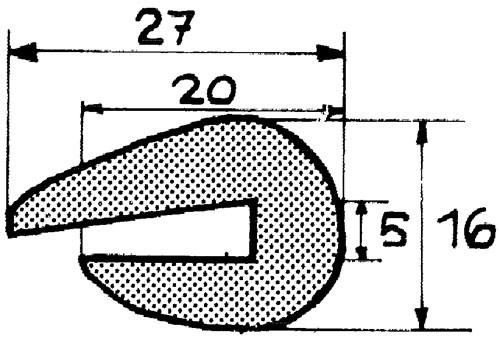 Relingslist RL61 12m
