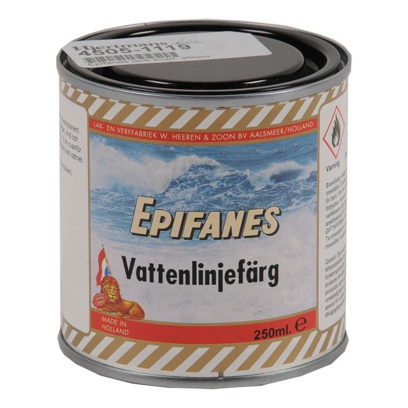 Epifanes lack svart, 250ml