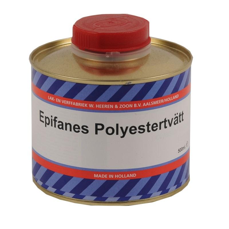 Epifanes polyestertvätt/glasfibertvätt, 0,5 liter
