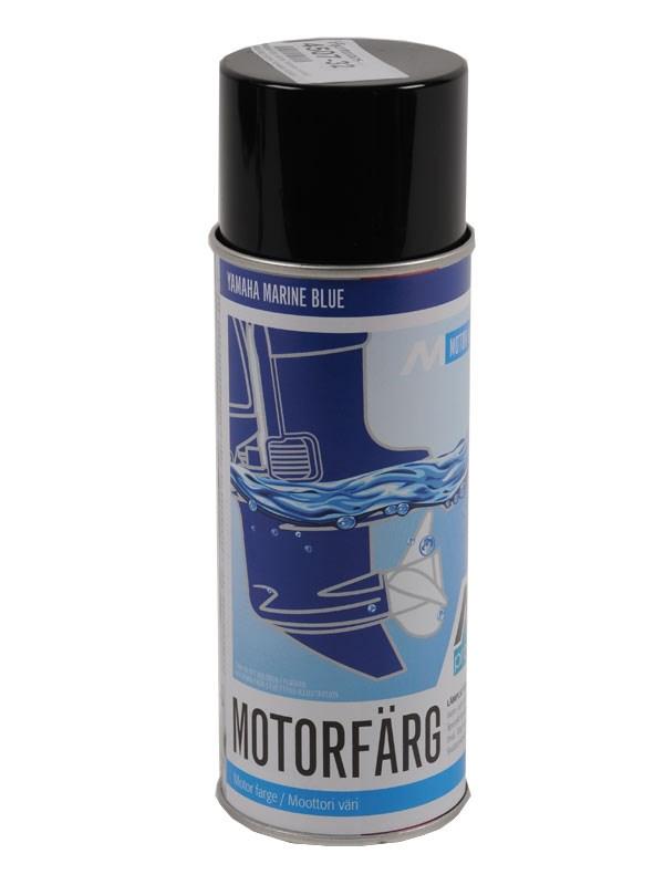 Motorfärg spray Yamaha mörkblå