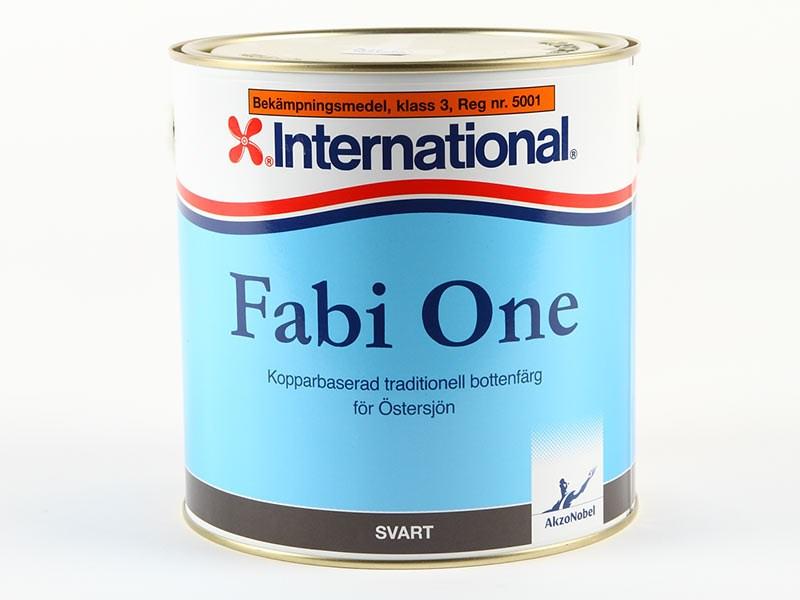 Fabi One svart 2.5lit
