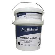 Multimarine Bottenfärg 4kg Svart