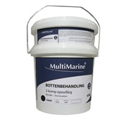 Multimarine Bottenfärg 4kg Svart