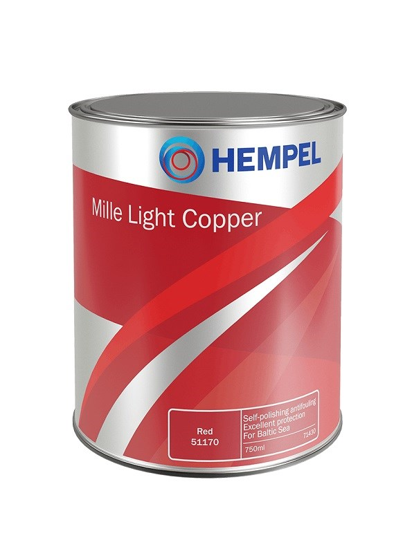 Mille Light Copper vit/ljusgrå 750ml