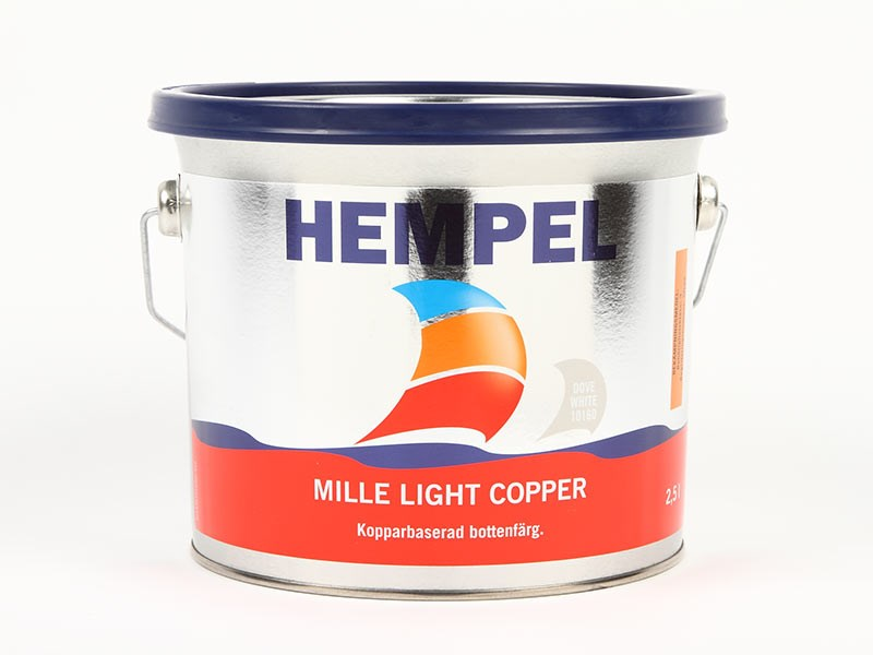 Mille Light Copper vit/ljusgrå 2.5lit