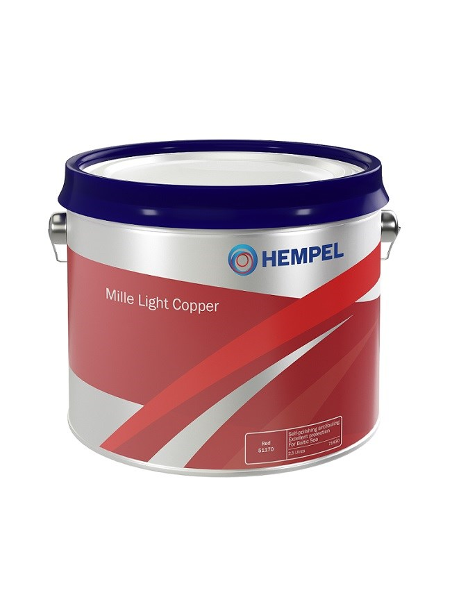 Mille Light Copper svart 2.5lit