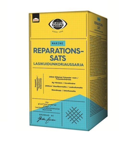 Reparationssats polyester Plastic Padding