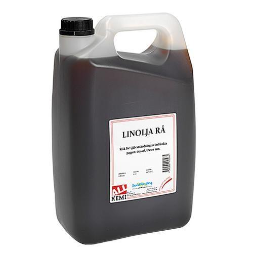 Linolja rå 5liter