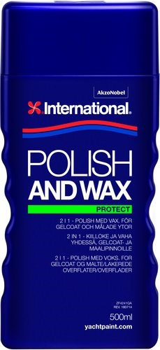Yachtline Polish and wax 500ml