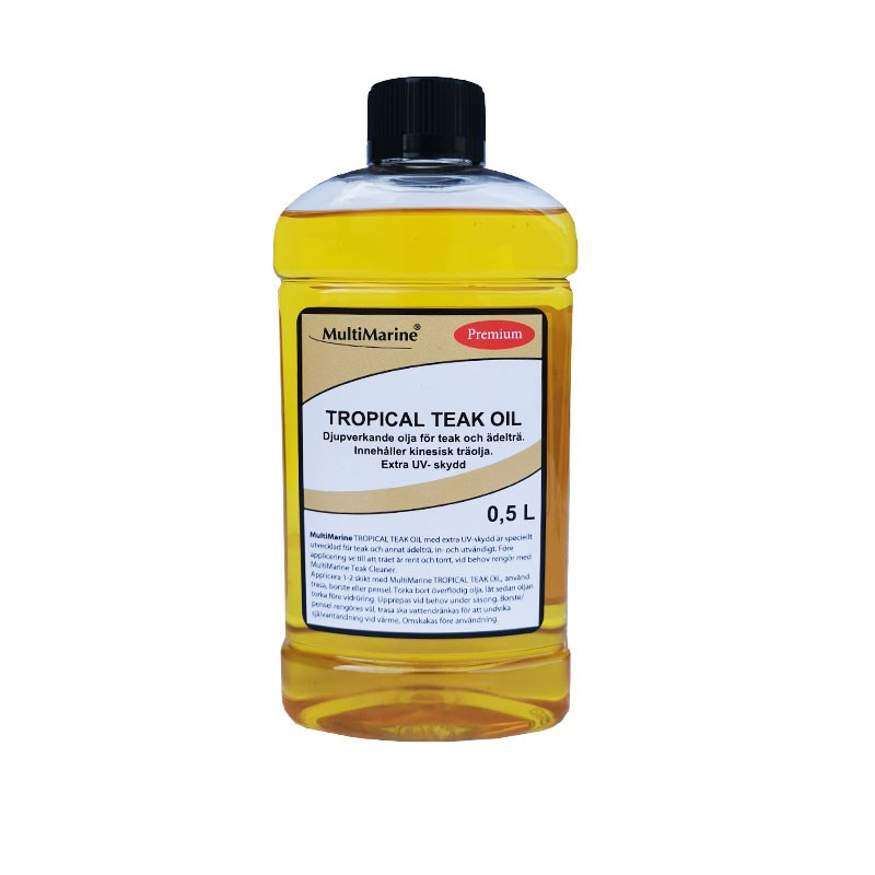 MultiMarine Teakolja Tropical 0.5liter