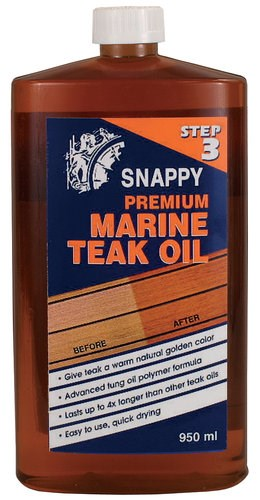 Snappy Teak Oil 950ml