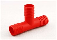 T-rör plast 25mm