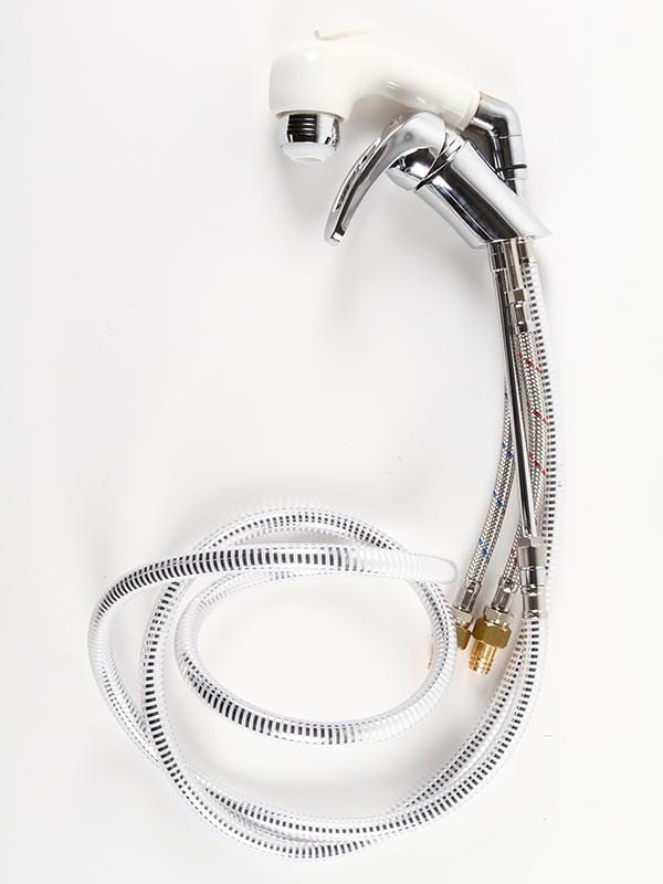 Engreppsblandare med duschhandtag