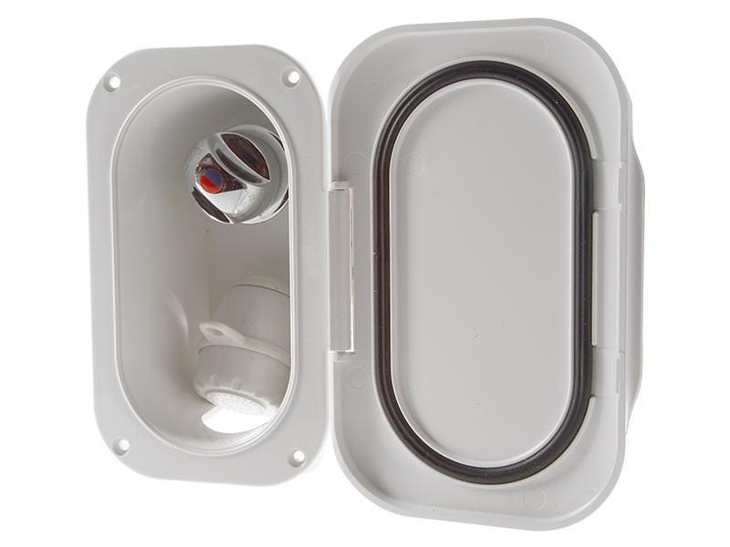 Duschbox rektangulär infälld
