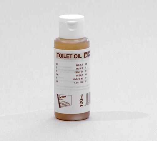 WC-Olja, smörjer packningar