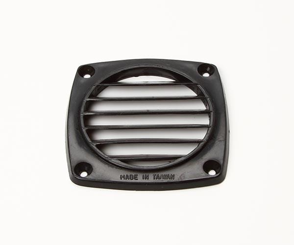 Ventilgaller svart 92x92mm