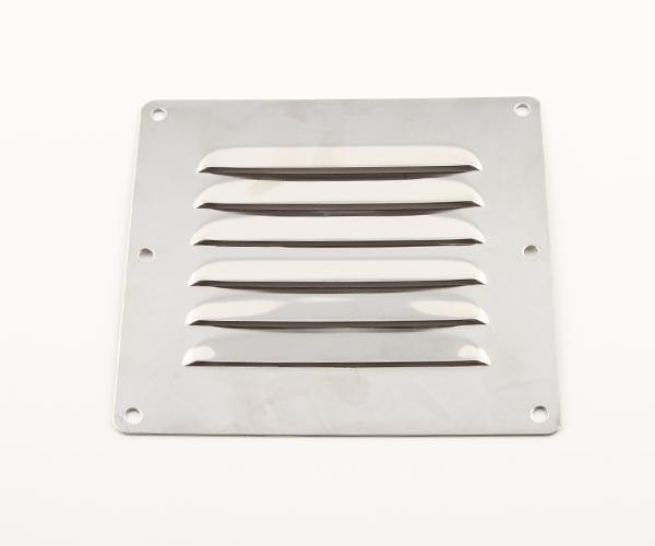Ventilgaller rostfri 127x115mm