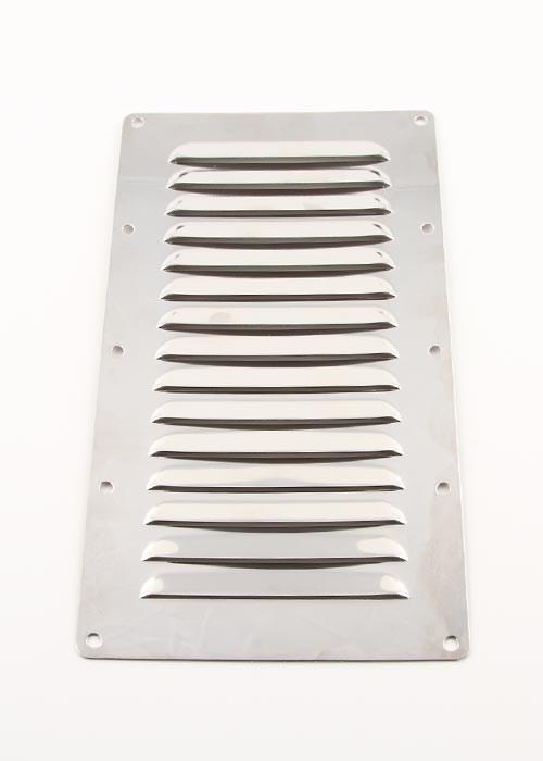 Ventilgaller rostfri 227x127mm