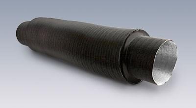 Luftljuddämpare 90mm