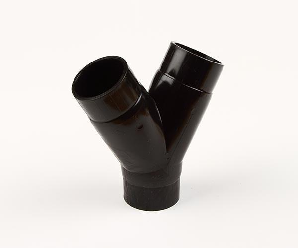 Y-rör 50mm svart
