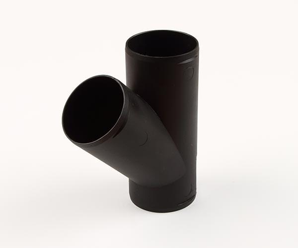 Grenrör 60mm svart