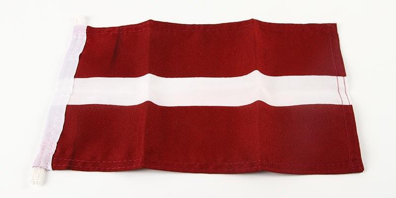 Gästflagga Lettland