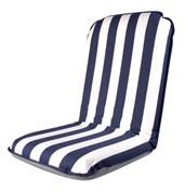 Comfort Seat blå/vit randig
