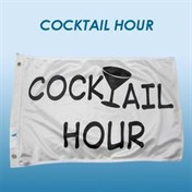 "Flagga WD ""Cocktail hour""."