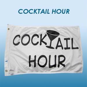 "Flagga WD ""Cocktail hour""."