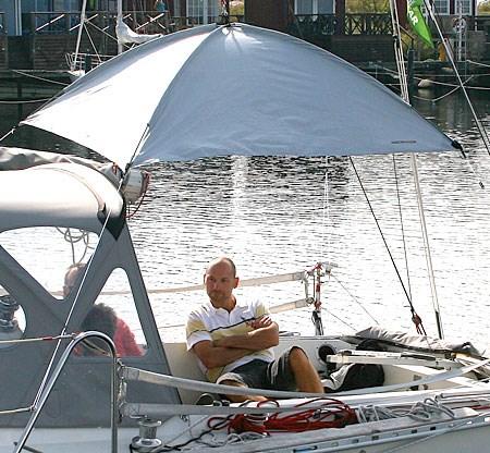 Solskydd Watski 120x120cm.