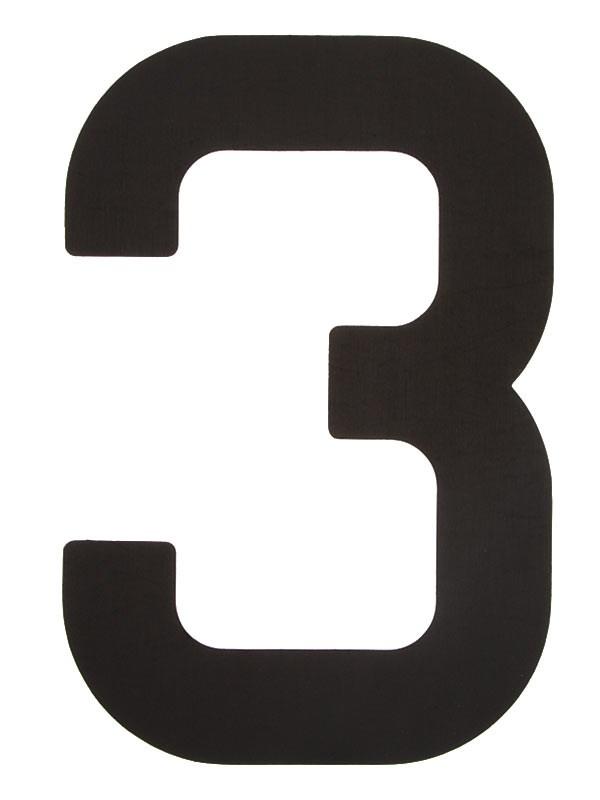 Segelsiffra 3, 23cm (optimist)