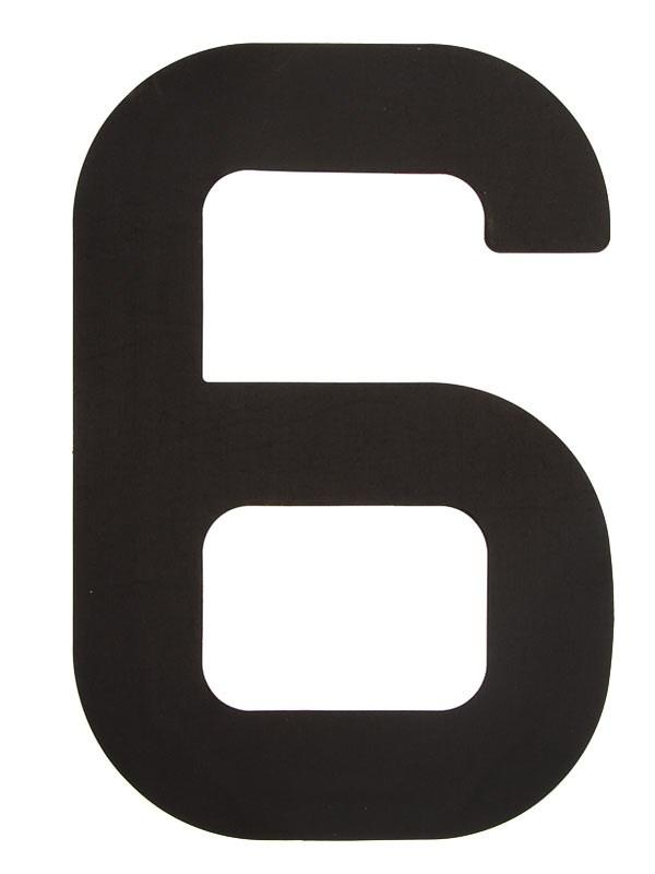Segelsiffra 6, 23cm (optimist)