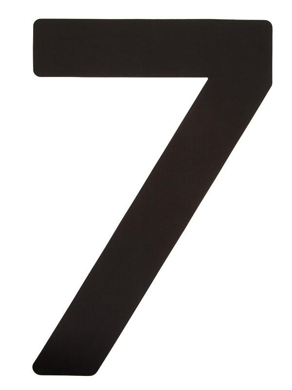 Segelsiffra 7, 23cm (optimist)