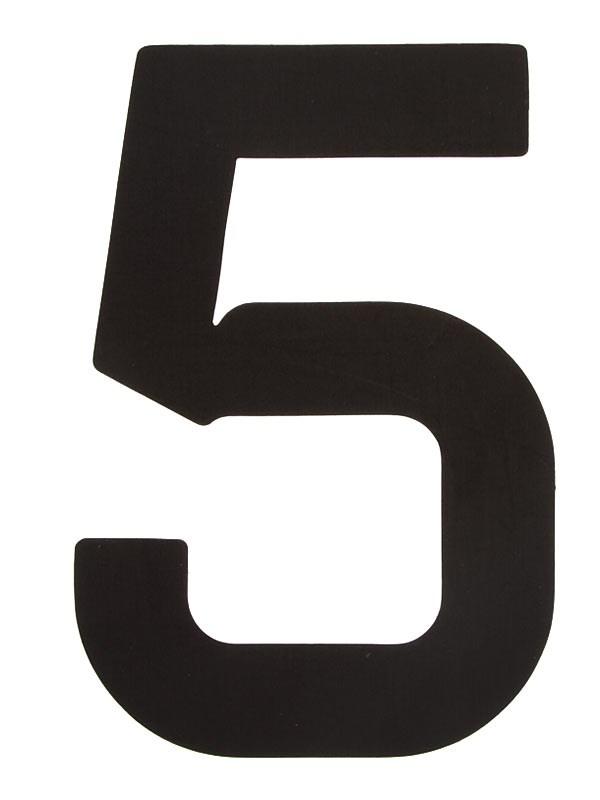 Segelsiffra 5, 30cm