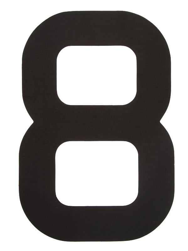 Segelsiffra 8, 30cm